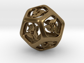 Tengwar Elvish D12 in Natural Bronze
