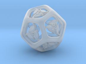 Tengwar Elvish D12 in Smooth Fine Detail Plastic