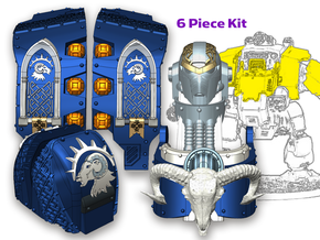 Sons of Isaac : Full Atlas Pattern Kit in Smooth Fine Detail Plastic
