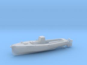 1/144 IJN Motor Boat Cutter 11m 60hp in Smooth Fine Detail Plastic