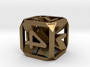 Expanding Dice in Natural Bronze