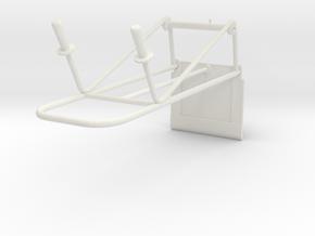 1:14 Sackkarre hand truck garage tools in White Natural Versatile Plastic