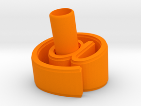At Pen Holder (M) in Orange Strong & Flexible Polished