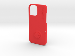 iPhone 12 Pro Max Garmin Mount Case in Red Processed Versatile Plastic