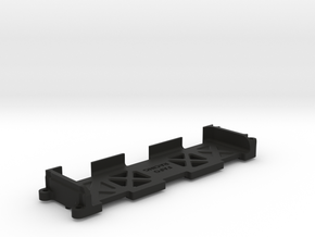 Low CG Long Battery tray for Lasernut in Black Natural Versatile Plastic