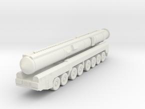 RT-2PM2 Topol-M ICBM 1/160 in White Natural Versatile Plastic