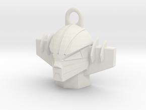 jeeg pendant in White Natural Versatile Plastic