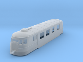 bl120fs-a80d1-railcar in Smooth Fine Detail Plastic