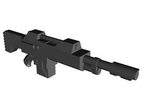 Laser rifles 28mm x26 in Smoothest Fine Detail Plastic