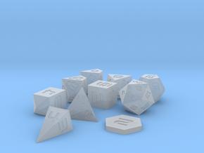 Polyset Vertical D2 D4C D4D - Sci-Fi Font in Smoothest Fine Detail Plastic