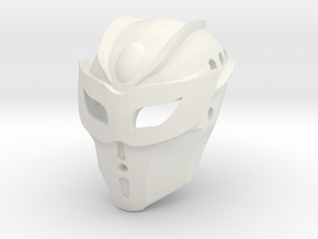 Kanohi Ekore, Mask of Intangibility (Toa Tuyet) in White Natural Versatile Plastic