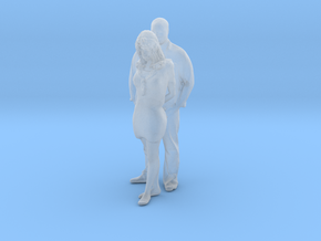 Printle CM Couple 062 - 1/87 - wob in Smooth Fine Detail Plastic