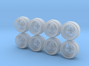 Weds MK1 Hot Wheels Rims in Smooth Fine Detail Plastic