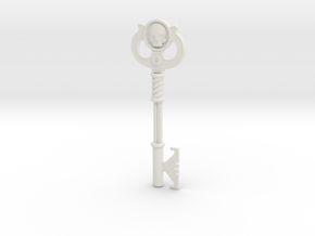 Key  in White Natural Versatile Plastic