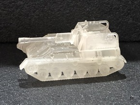 SU-76 M (early) 1/144 in Smooth Fine Detail Plastic