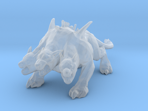GOW Cerberus miniature model monster fantasy dnd in Smooth Fine Detail Plastic