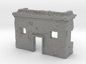 1/144 Desert Hut Ruin in Gray PA12