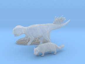 Early Cretaceous Stand-off in Smooth Fine Detail Plastic: 1:35