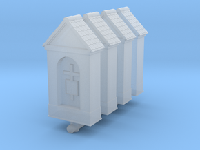 Small Chapel (x4) 1/160 in Smooth Fine Detail Plastic