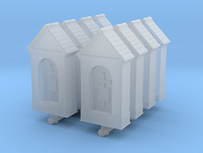 Small Chapel (x8) 1/220 in Smooth Fine Detail Plastic