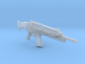 """SCAR assault rifle/ for 6""""-7"""" custom figures in Smooth Fine Detail Plastic"""