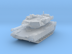 M1A1 AIM Abrams (late) 1/220 in Smooth Fine Detail Plastic