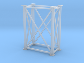 'HO Scale' -4' x 8' x 11.8' Tower in Smooth Fine Detail Plastic