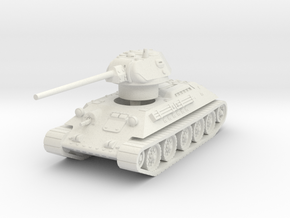 T-34-57 1941 fact. 183 late 1/87 in White Natural Versatile Plastic