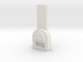 Brick Oven 1/76 in White Natural Versatile Plastic