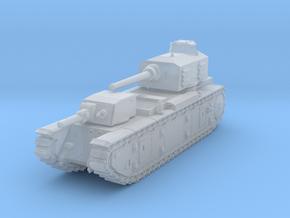 FCM F1 tank WW2 in Smoothest Fine Detail Plastic: 1:220 - Z