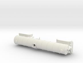 1/64th 40 foot liquid manure fertilizer tanker  in White Natural Versatile Plastic