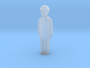 Capsule HH Worker Standing in Smooth Fine Detail Plastic