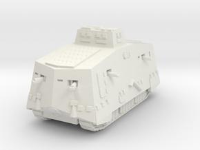 A7V 501 female Tank 1/87 in White Natural Versatile Plastic