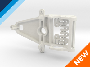 Sidewinder Small Can Reverse motor mount in White Natural Versatile Plastic