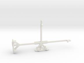 Huawei P smart 2021 tripod & stabilizer mount in White Natural Versatile Plastic