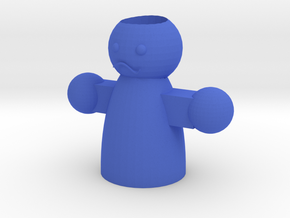 人偶造型筆筒  in Blue Processed Versatile Plastic