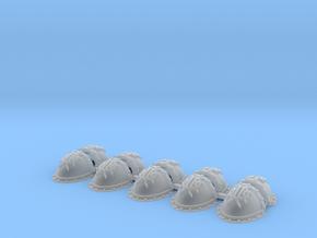 Ashen Circle Mk3 Shoulder Pads x10 in Smoothest Fine Detail Plastic