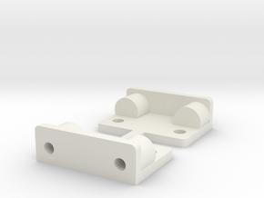 Tamiya Fox B4 B Part Shock Tower Brace  in White Natural Versatile Plastic