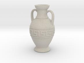 Ancient Greek Amphora - 6cm height in Natural Sandstone