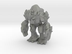 Rocky 63mm kaiju monster miniature model fantasy in Gray PA12