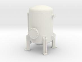 Autoclave Pressure Tank 1/48 in White Natural Versatile Plastic