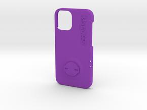 iPhone 12 Mini Garmin Mount Case in Purple Processed Versatile Plastic