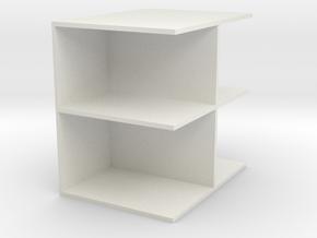 shoe storage cabinet in White Natural Versatile Plastic
