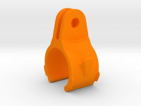 Exposure Small GoPro Mount in Orange Processed Versatile Plastic