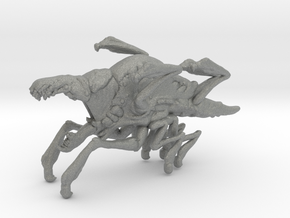 Cloverfield Parasite miniature model fantasy games in Gray PA12