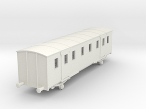 o-87-sncf-night-ferry-passenger-baggage-van in White Natural Versatile Plastic