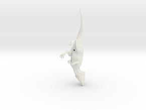 Aquilops running pose in White Natural Versatile Plastic