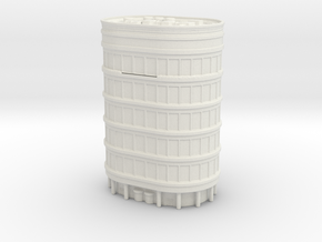 Oval Office Tower 1/1000 in White Natural Versatile Plastic