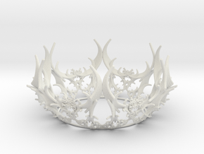 Crown - Forest  in White Natural Versatile Plastic