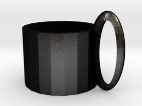 Product: Mug in Matte Black Steel: Medium